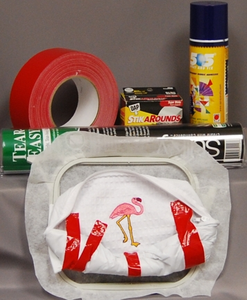 Hooping Cosmetic Bags for Machine Embroidery